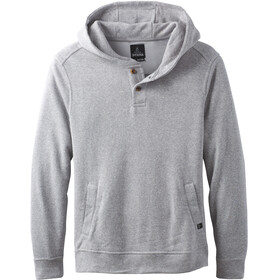 Prana M's Norcross Crew Fleece Pullover Heather Grey
